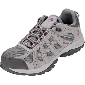 Columbia Redmond XT Waterproof Shoes Women Charcoal/Intense Violet